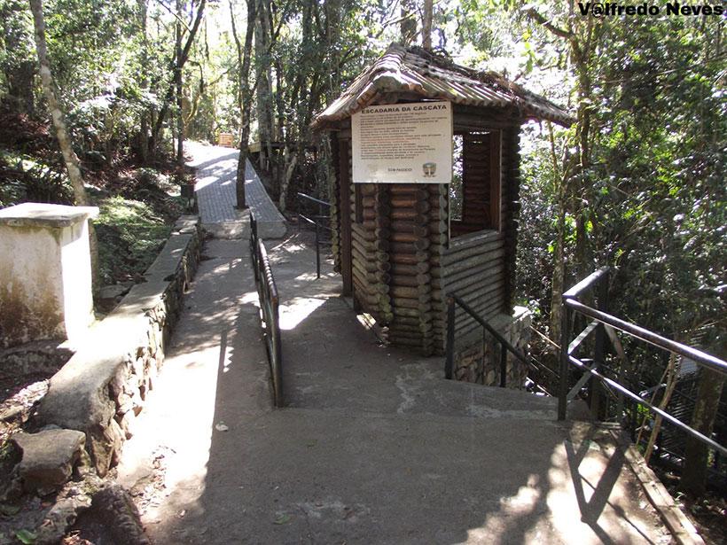 Início Escada da Perna Bamba